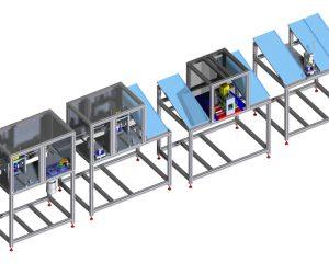 [:it]Linea assemblaggio cinture di sicurezza[:en]Seatbelts assembly line [:de]Linie zum Zusammenbau von Sicherheitsgurten [:]
